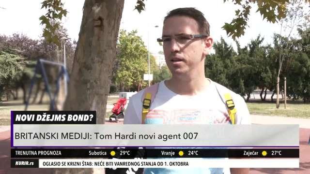 TOM HARDI BIĆE NOVI DŽEJMS BOND?! Šta kažu Srbi koga žele da vide u ulozi agenta 007! (KURIR TELEVIZIJA)