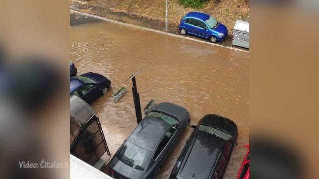 Poplava u Luke Vojvodića,opština Rakovica (VIDEO)