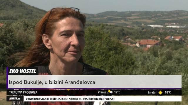 EKO ŽIVOT PODNO BUKULJE: Beograđanke napustile grad i napravile hostel u kome se ništa ne baca (KURIR TELEVIZIJA)