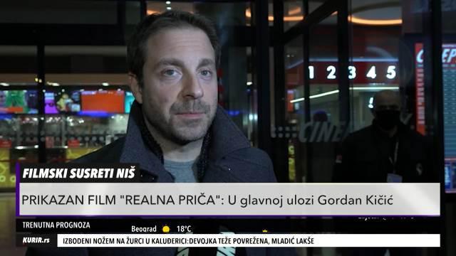 "MNOGO SMO SE SMEJALI! Gordan Kičić otvoreno o snimanju svog prvenca ""Realna priča"" (KURIR TELEVIZIJA)"