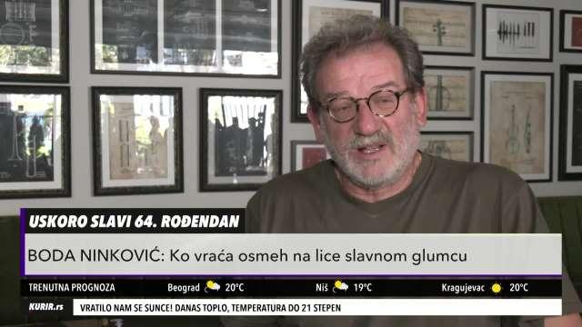 KAO DA JE POSLEDNJA PREDSTAVA: Boda Ninković OTVORENO o BORBI sa koronom (KURIR TELEVIZIJA)