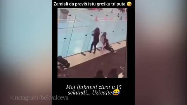 BEKVALČEVA OBJAVILA SNIMAK ZBOG KOG SE SVI SMEJU: Ovo je moj LJUBAVNI ŽIVOT U 15 sekundi! Ista greška ponovila se 3 puta! (VIDEO)
