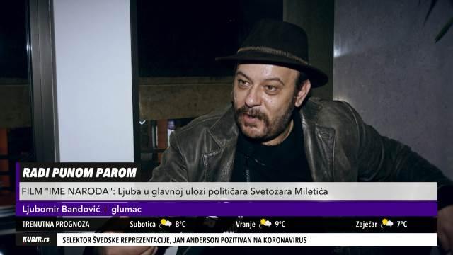 NAPUSTIO SAM, NE MOGU NAĆI SREĆU! Glumac Ljubomir Bandović PRIZNAO veliku stvar! (KURIR TELEVIZIJA)