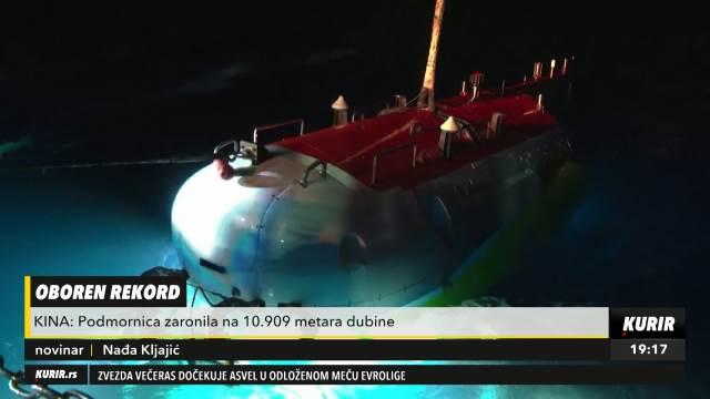 KINA OBORILA REKORD: Spustila podmornicu na blizu 11.000 METARA ispod mora! (KURIR TELEVIZIJA)