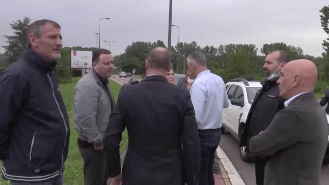 Državni sekretar Ministarstva unutrašnjih poslova Biljana Popović Ivković obišla je danas opštinu Obrenovac (VIDEO)