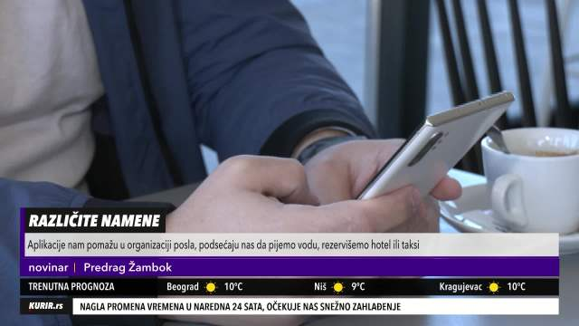 OLAKŠAĆE TI ŽIVOT! Stručnjak za pametne telefone OTKRIVA 5 NAJBOLJIH aplikacija za SVAKODNEVNO korišćenje (KURIR TELEVIZIJA)