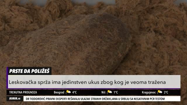 SRPSKO ZLATO: Severno od Niša skoro niko ne zna za ovaj proizvod od najkvalitetnijeg svinjskog mesa (KURIR TELEVIZIJA)
