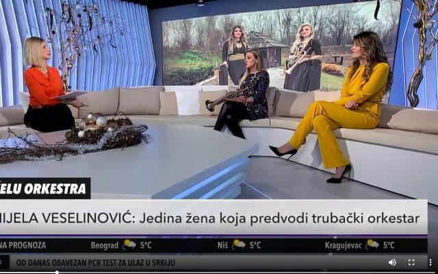 SA 9 GODINA POČELA DA SVIRA TRUBU! Evo ko su devojke koje su pesmom Nikoljdan OSVOJILE SRCA cele Srbije (KURIR TELEVIZIJA)