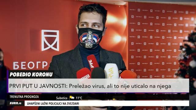 PRVI PUT U JAVNOSTI POSLE KORONE: Miloš Biković OTKRIO kako se oseća, a planovi za 2021. ŠOKIRALI su sve (KURIR TELEVIZIJA)