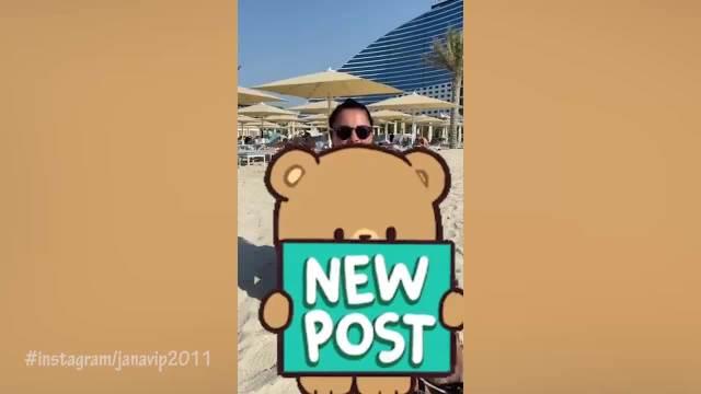 JANO, BOLJA SI OD SAMANTE FOKS: Todorovićeva se baškari u Dubaiju, a usledio i komentar pravo sa ESTRADE! Evo ko HVALI pevačicu!