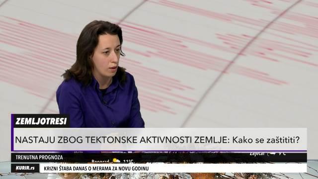 NEMOGUĆE JE PREDVIDETI ZEMLJOTRES! Dr Ana Mladenović objasnila ZAŠTO dolazi do njih i da li je SRBIJA zaštićena (KURIR TELEVIZIJA)