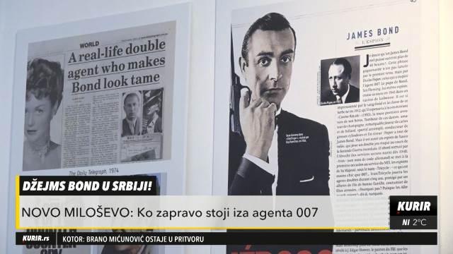 U VOJVODINI POSTOJI MUZEJ POSVEĆEN PRAVOM DŽEJMS BONDU: Otkrivena misterija broja 007 (KURIR TELEVIZIJA)