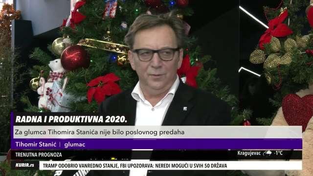 STRAŠNA GODINA JE IZA NAS! Čuveni glumac Tihomir Stanić naučio važnu lekciju, OTVORIO dušu pred našom kamerom (KURIR TELEVIZIJA)