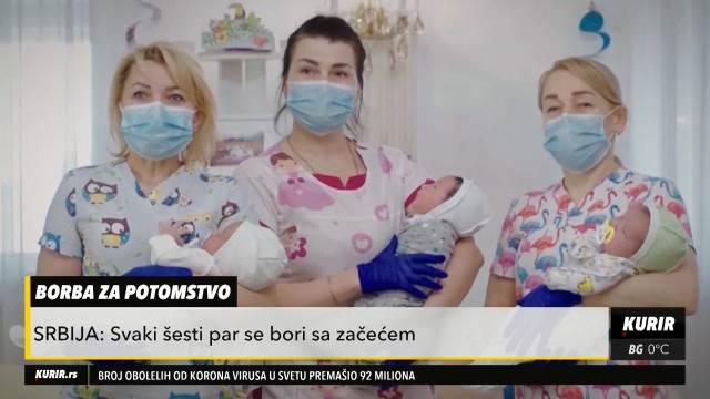 SVAKI ŠESTI PAR U SRBIJI SE BORI SA ZAČEĆEM: Šta kažu žene koje su prošle kroz proceduru vantelesne oplodnje (KURIR TELEVIZIJA)